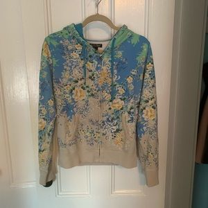 Lucky Brand Floral Hoodie